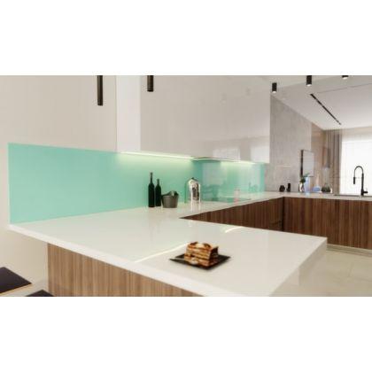 Turquoise Acrylic Splashback