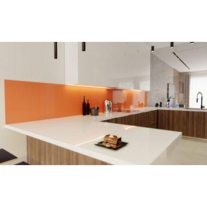 Orange Acrylic Splashback