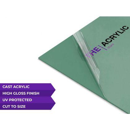 Gloss Green Acrylic Sheet