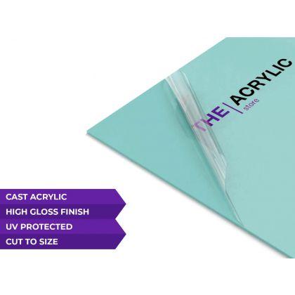 Gloss Turquoise Acrylic Sheet