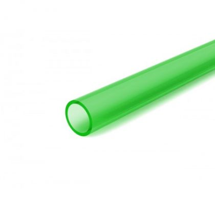 TINTED GREEN ACRYLIC TUBE